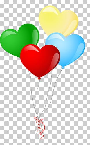Balloon Heart Valentines Day PNG