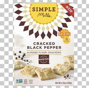 Muffin Cracker Almond Meal Flour Food PNG