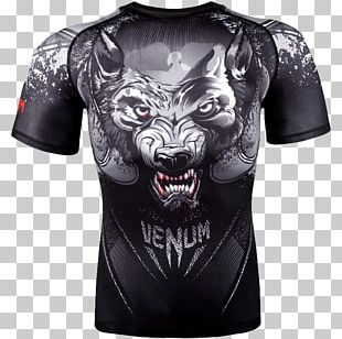 Venum Rash Guard Mixed Martial Arts Clothing Boxing PNG