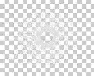Black And White Circle Pattern PNG