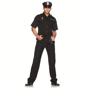 T-shirt Halloween Costume Police Officer PNG