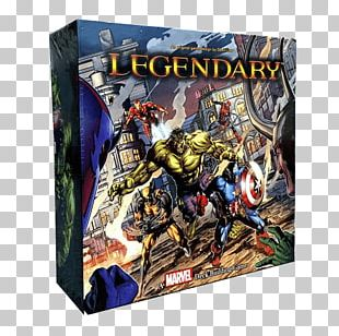 Deck-building Game Set Board Game Marvel Comics Playing Card PNG