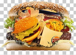 Cheeseburger Whopper McDonald's Big Mac Fast Food Hamburger PNG