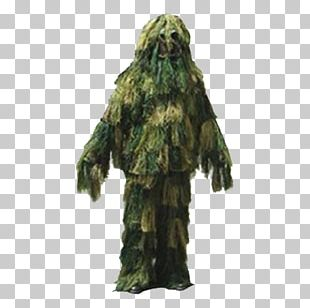 Ghillie Suits Military U.S. Woodland Camouflage Clothing PNG