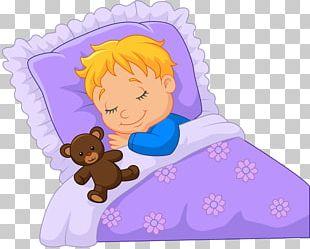 Sleep Infant Cartoon Illustration PNG