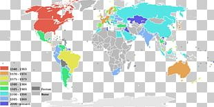 The World Factbook McArthur's Universal Corrective Map Of