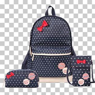 Student Handbag Backpack School PNG