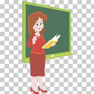 Student Teacher Blackboard PNG