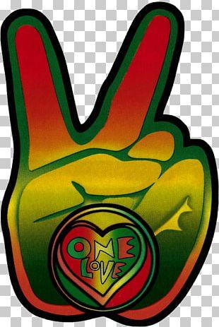 Bumper Sticker Peace Symbols Decal Rastafari PNG