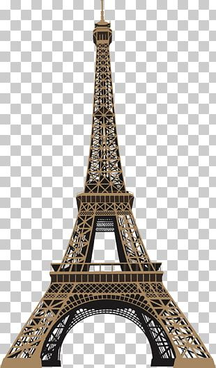 Eiffel Tower Wall Decal Sticker PNG