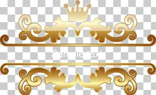 Motif Crown Vecteur PNG