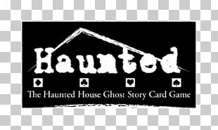 Logo Haunted House Game Ghost Brand PNG