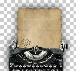 PEPPERWHITE Vintage Paper Old Typewriters Antique PNG