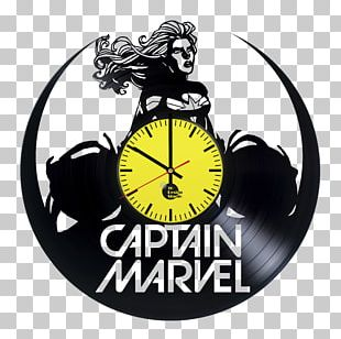 Carol Danvers Captain Marvel: Earth's Mightiest Hero Marvel Comics Phonograph Record PNG