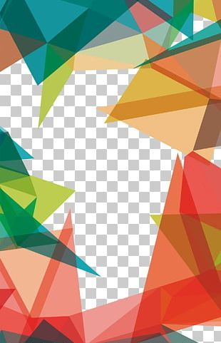 Geometry Triangle Pattern PNG