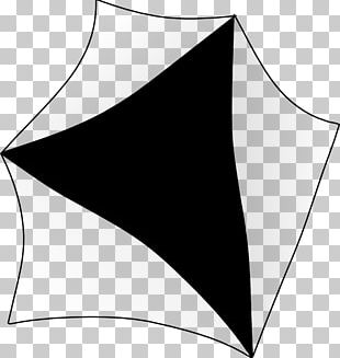 Black Area Angle Pattern PNG