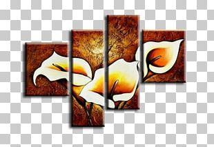 Oil Painting Canvas Art Watercolor Painting PNG