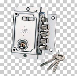 Rim Lock Door Latch Key PNG