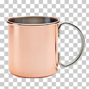 Mint Julep Moscow Mule Mug Copper Table-glass PNG