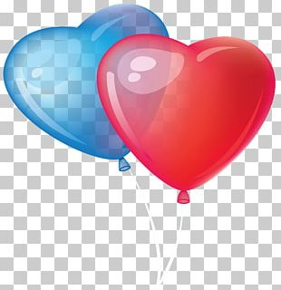 Valentine's Day Heart Balloon PNG