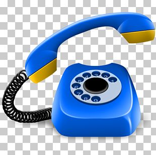 Telephone Mobile Phones Computer Icons Handset PNG