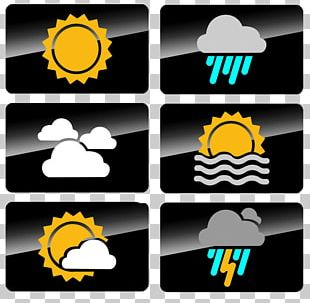 Weather Forecasting Symbol Icon PNG