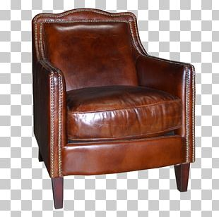 Club Chair Couch Furniture PNG