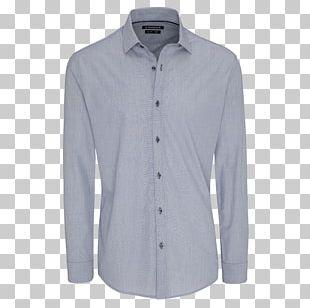 Dress Shirt Sleeve T-shirt Button PNG