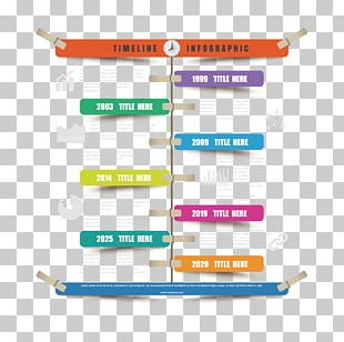 Infographic Timeline Template Illustration PNG