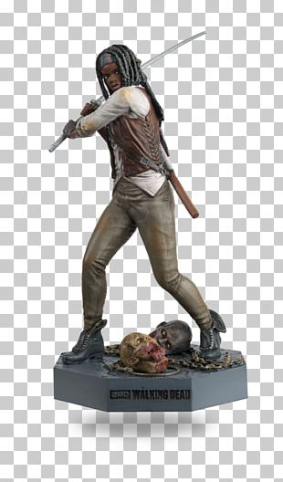 Michonne Daryl Dixon Figurine Rick Grimes Negan PNG