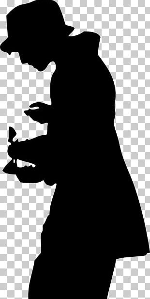 Silhouette Top Hat PNG