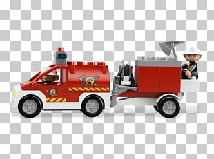 Fire Engine Fire Department LEGO Model Car Fire Station PNG