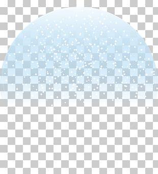 Blue Snowflake PNG