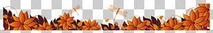 Autumn Web Banner Leaf PNG