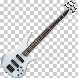 Bass Guitar Ibanez Musical Instruments Pickup PNG