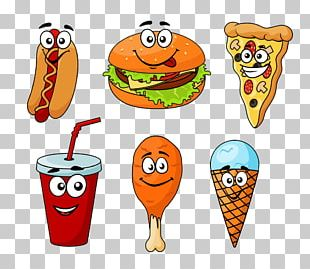 Ice Cream Fast Food Cheeseburger Hot Dog Hamburger PNG