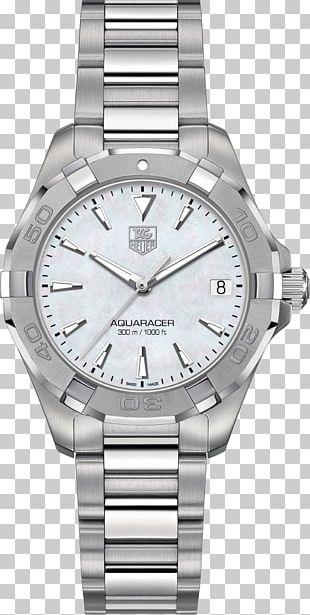 TAG Heuer Aquaracer Automatic Watch Quartz Clock PNG