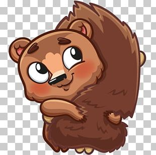Chocolate Brownie Sticker Rodent PNG