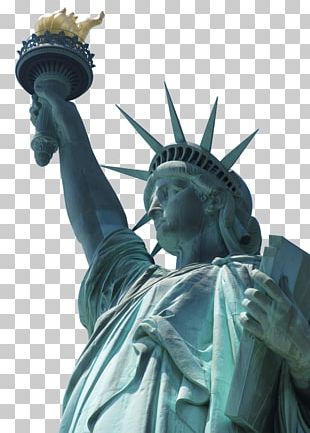 Statue Of Liberty New York Harbor Ellis Island Sculpture PNG