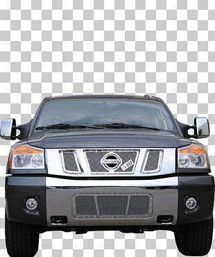 Car 2014 Nissan Armada Nissan Titan Grille PNG