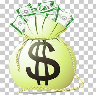 Money Bag Cartoon PNG
