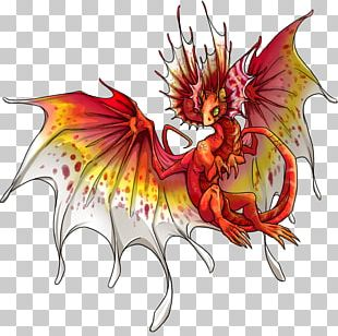 Dragon Fairy Legendary Creature Sprite Character PNG