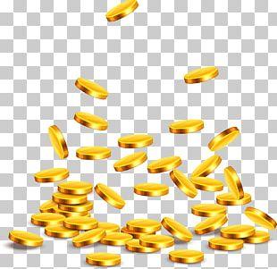 Gold Coin Adobe Illustrator PNG
