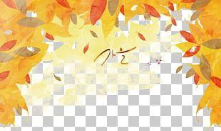 Autumn Cartoon Illustration PNG