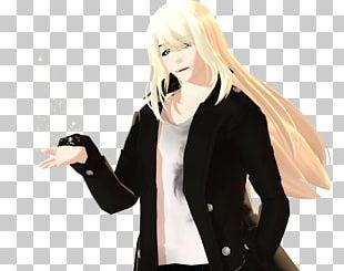 Mangaka Black Hair Figurine Anime Character PNG