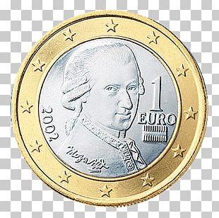 1 Euro Coin Austrian Euro Coins 1 Cent Euro Coin PNG