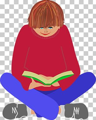 Book Text Reading Child PNG