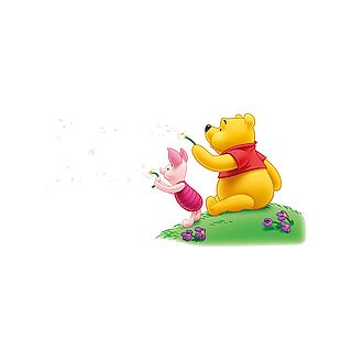 Cartoon Winnie The Pooh Pixel PNG