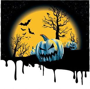 Halloween Jack-o'-lantern Euclidean PNG