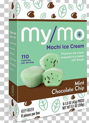 Mochi Green Tea Ice Cream Japanese Cuisine PNG